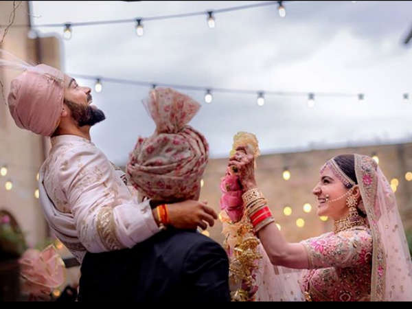 Virat Kohli Anushka Sharma Have Tied The Knot At Milan Italy