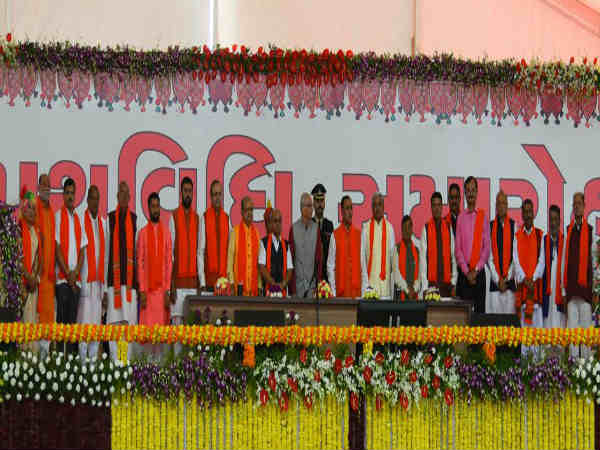 List Gujarat Minister State Who Took Oath Today Know More