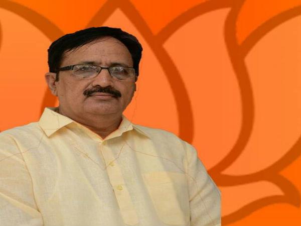 Kalubhai Chavda Bjp Candidate From Khambhalia Assembly Seat