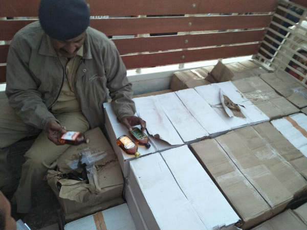 ચૂંટણી પહેલા ઝડપાયો દારૂનો જથ્થો, કોંગ્રેસનો BJP પર આરોપ