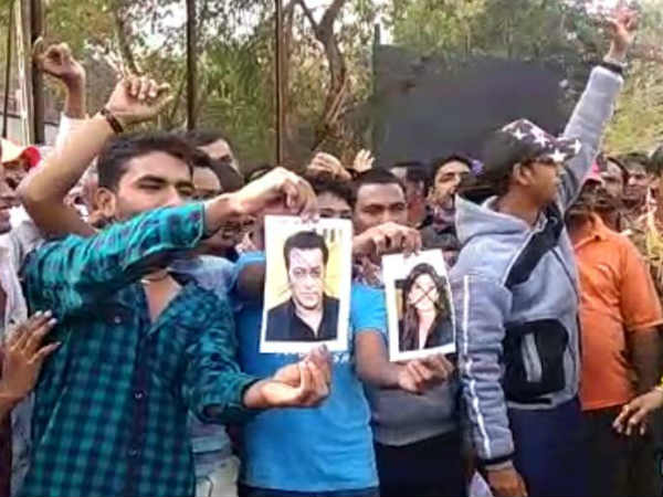salman protest in gujarat