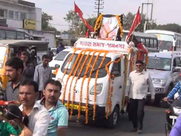 Saurashtra Sonal Bij Festival Celebrated Charan Samaj