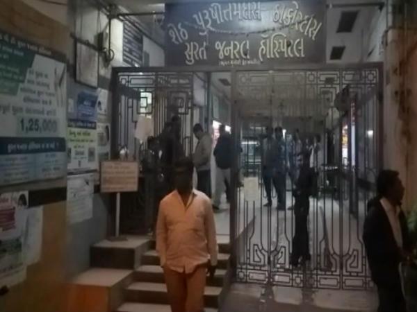 Surat Firing At Gangster Hasain Hasoti