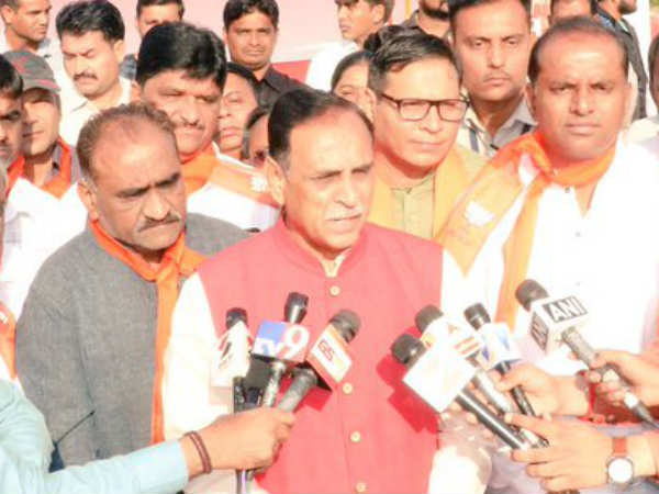 Vijay Rupani Answer On Rahul Gandhi Question On Martyr Issue