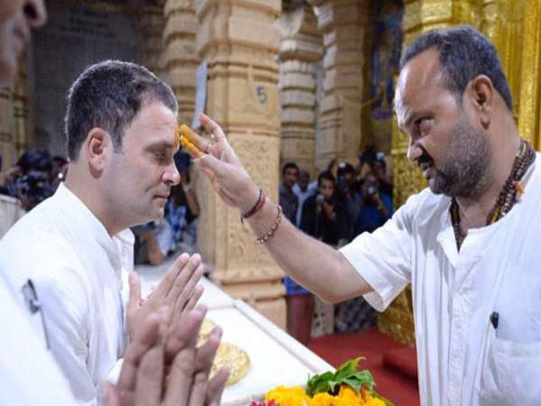 Rahul Gandhi My Family Is Shiv Bhakt Wont Dalali Over Religion