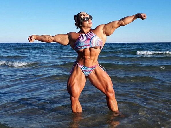 Body Builder Russia Natalia Kuznetsova Is Female Hulk