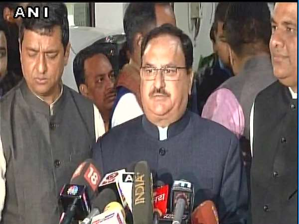 Gujarat Himachal Election 2017 Jp Nadda Statement After Bjp Parliamentry Board Meeting