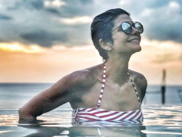 Mandira Bedi New Year Bikini Thailand