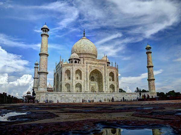 Different Views Taj Mahal
