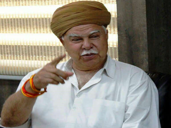 Karni Sena Chief Lokendra Singh Kalvi Addressed Press Confer