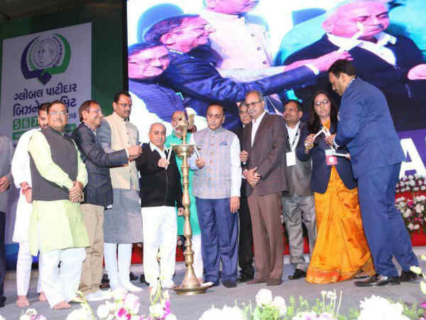 Cm Vijay Rupani Inaugurated Global Patidar Business Summit