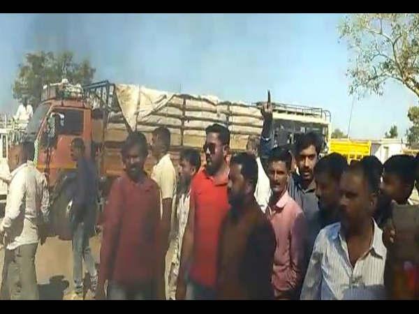 Karni Sena Protesting Padmaavat Film At Ahmedabad Jamnagar