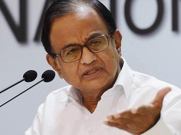 P Chidambaram Calls Ed Raid Comedy Of Errors In Karti Chidambaram Case