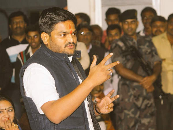 Hardik Patel Accused Indecent Comment On Brahmin Community