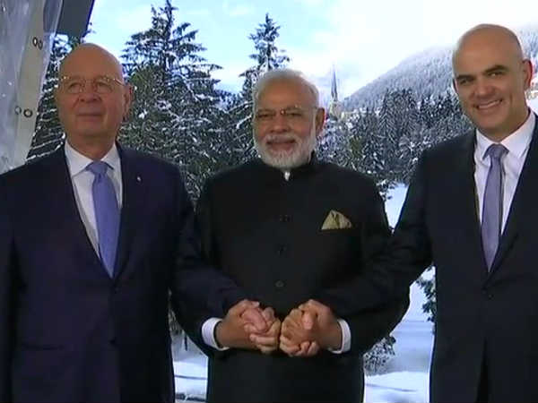 Pm Narendra Modi Addresses World Economic Forum 2018 Davos