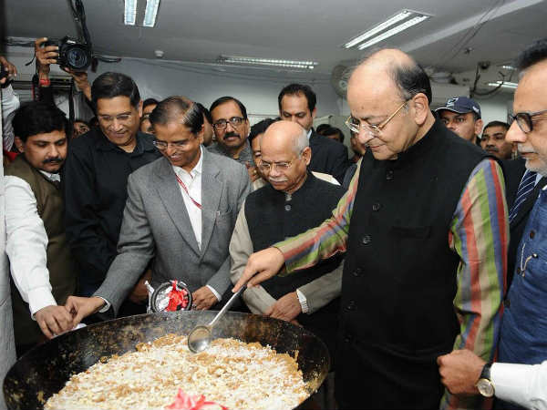 What Is Halwa Ceremony Which Take Place Ahead Of Union Budget Arun Jaitely Takes Part In It