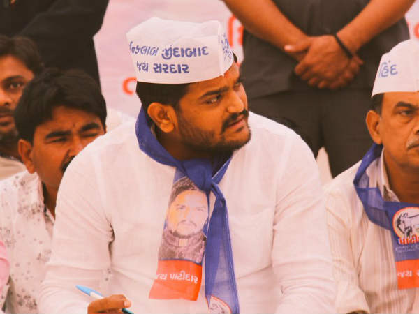 Hardik Patel Restart His Reservation Movement Again But