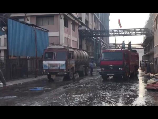 Vadodara Major Fire Gsp Company Nandesari Gidc