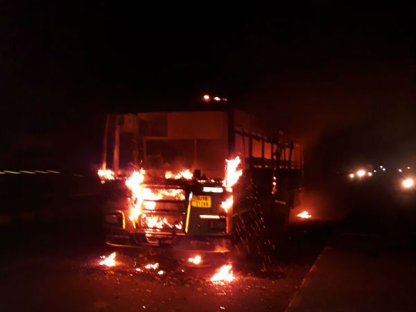 According Ib Report Maharashtra Violence May Affect Gujarat