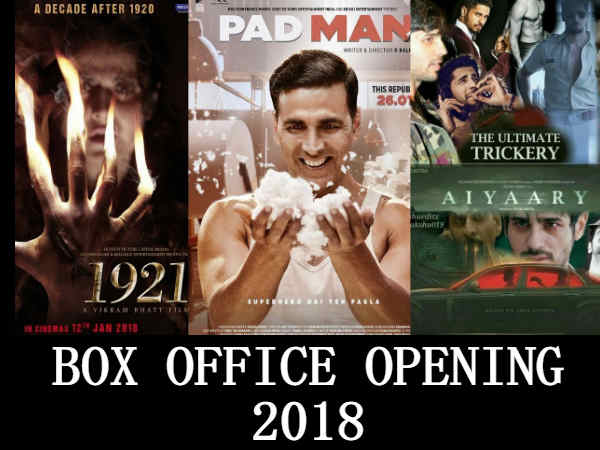 Box Office Analysis January 2018 Padman Aiyyari Padmavati Will Kick Tiger Zinda Hai