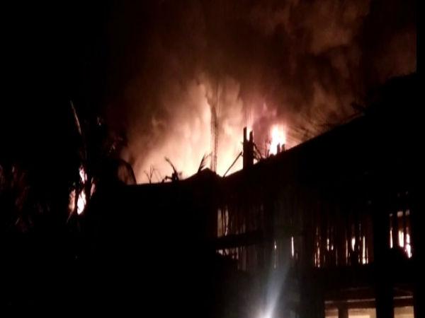 Valsad Overcome The Fire Gidc Near Uramgam