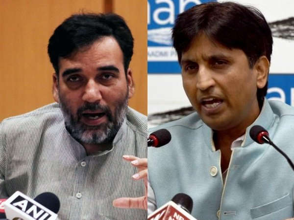 Gopal Rai Said Kumar Vishwas Tried Pull Down Aap Government