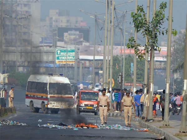 Maharashtra Bandh Mumbai Pune Dalits Marathas Bhim Koregaon Violence