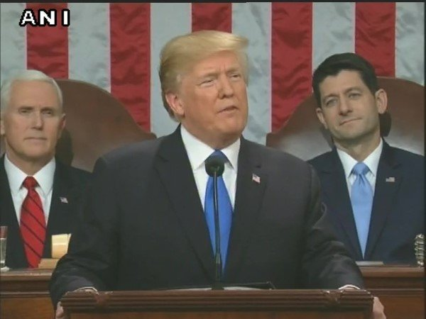 Donald J Trump Deliver 2018 State The Union Address