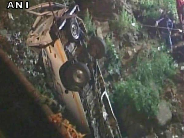Maharashtra Kolhapur Bus Fall Into Panchganga River 12 Died