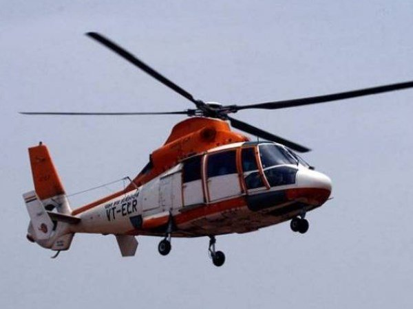 Helicopter With 7 People On Board Including Ongc Employees Missing Juhu Mumbai