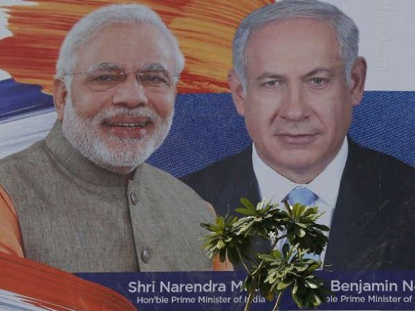 Benjamin Netanyahu Visit Sabarmati Ashram Ahmedabad Pm Modi