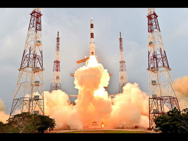 Isro Launch Its 100th Pslv Satellite Andhra Pradesh