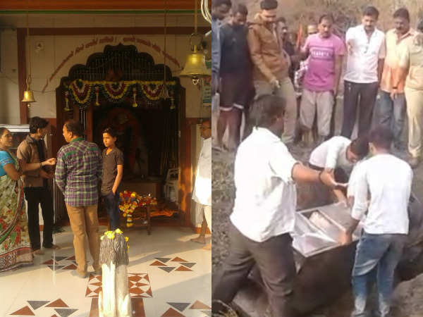 Surat Saptashrungi Temple Looted Thief