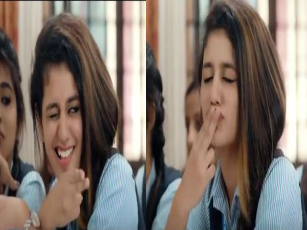 Priya Prakash New Video Oru Adaar Love Valentine Day Spec