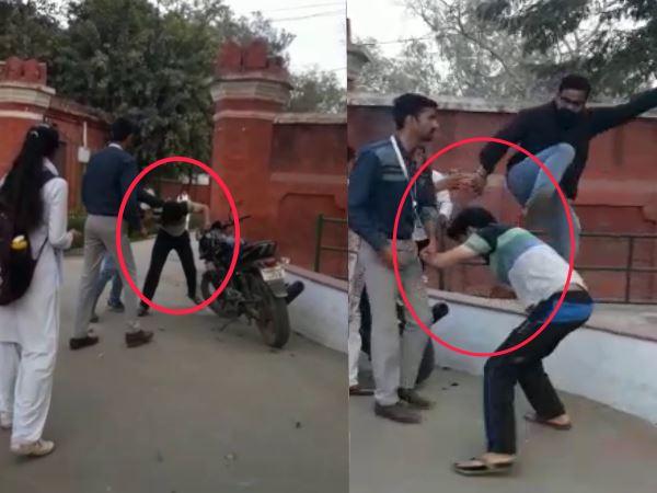 Agra Man Beaten Boy No One Helps Him Watch Video