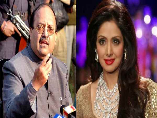 Sridevi Never Took Sip Alcohol But Wine Says Amar Singh