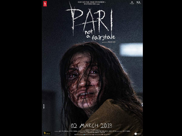 Anushka Sharma Starrer Pari New Poster Out And Its Scary