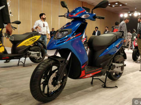 Aprilia Sr 125 Bookings Through Paytm App Begins Cashback Offer Available