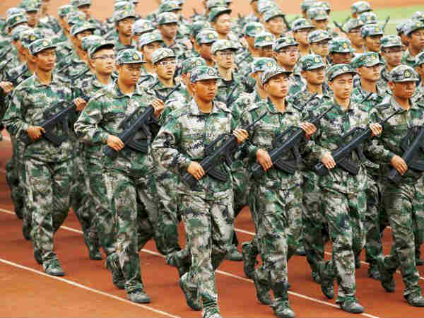 china military growing fast