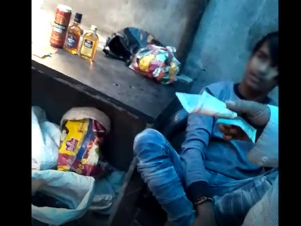 Viral Video Of Surat Where People Openly Enjoying Liquor