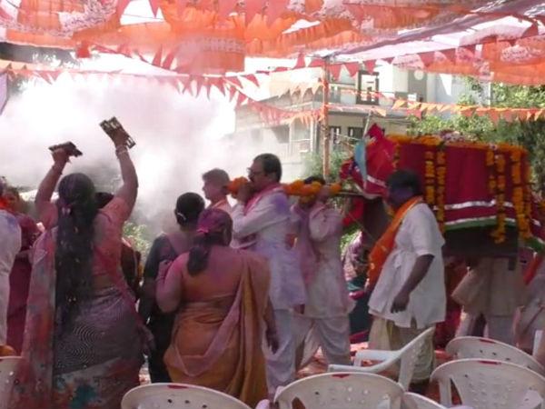 Aravalli Gokulnath Temple Bagicha Utsav