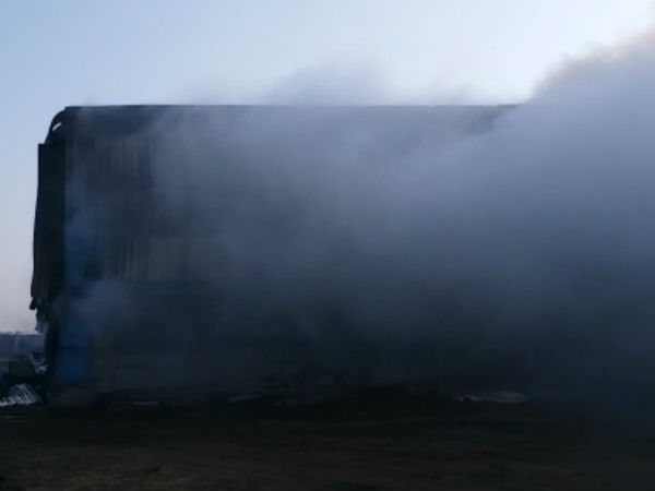 Cid Crime Suspected To Have Been Set Fire To Gondal S Groundnut Godown