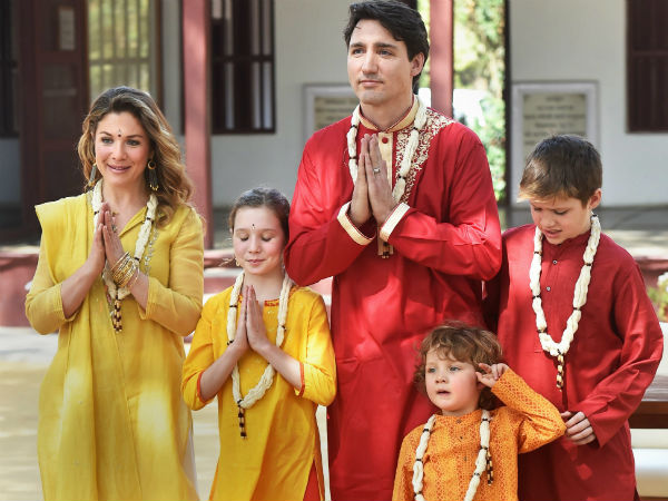 Canadian Pm Justin Trudeau Visited Akshardham Temple Ahmedab