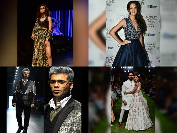 Lakme Fashion Week 2018 Karan Johar Shahid Kapoor Meera Rock