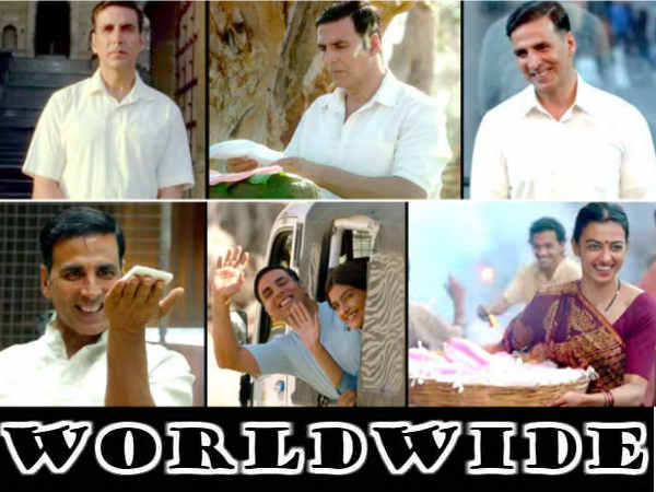 Padman Box Office Collection Crosses 100 Crore Worldwide