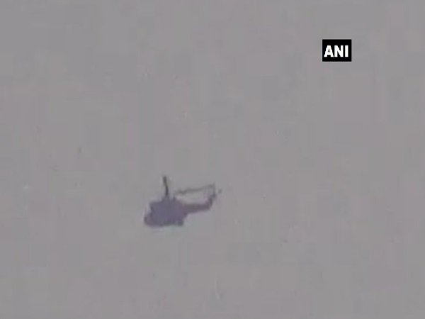 Pakistan Military Helicopter Which Came Up 300 Metres The Loc
