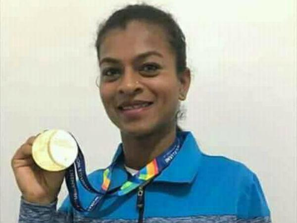 Gujarat Tribal Girl Sarita Gaikwad Won Gold Medal Relay Race