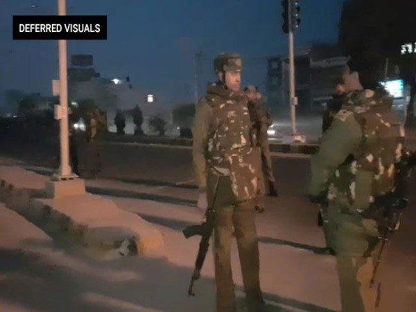 Terrorists Attack Army Camp J Ks 2 Jawan Injured