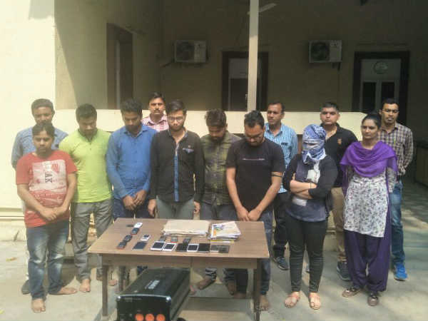 Ahmedabad Cyber Cell Seven Arrested After Raid At Delhi Noida