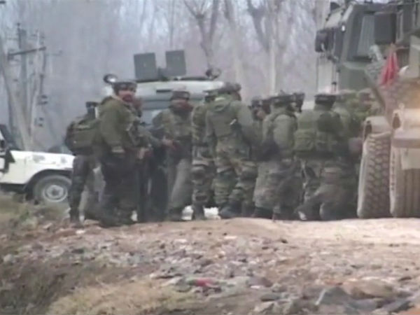 One Terrorist Killed During An Encounter With Security Force Jammu Kashmir